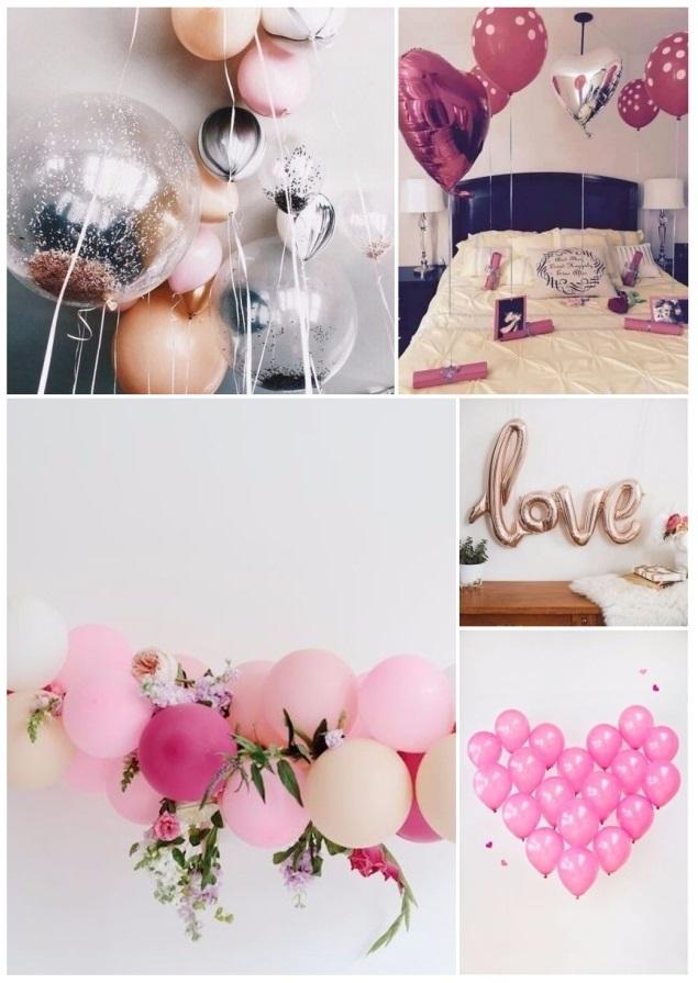 como decorar para San Valentín 12