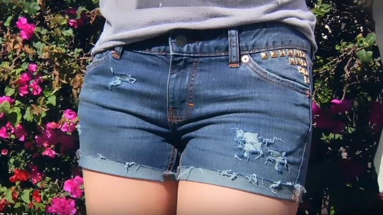 cc40009f9d como hacer shorts con pantalones fácilmente