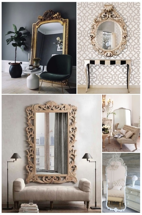Decorar con espejos 40 preciosas ideas para tu hogar for Espejos grandes para salon