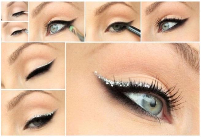 Maquillaje plateado paso a paso: 2 looks fáciles y preciosos