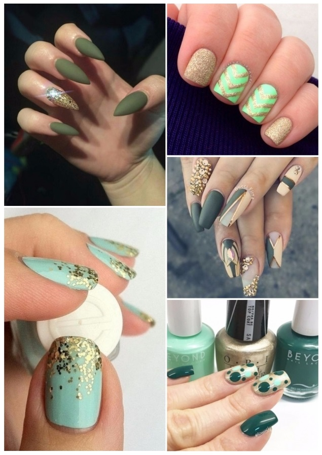 Decoración para uñas verdes: ¡+50 diseños que te encantarán!