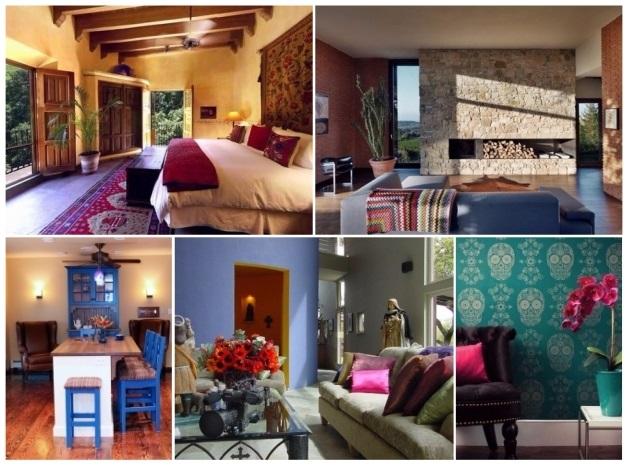Decoraci n estilo mexicano 50 ideas para decorar tu hogar Estilo moderno diseno de interiores