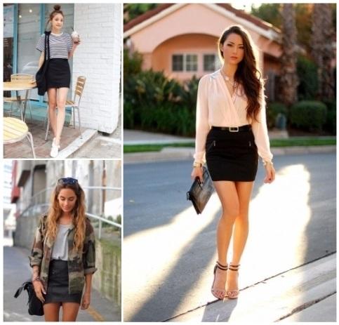 Como combinar una falda negra: ? ¡Looks con estilo! ?