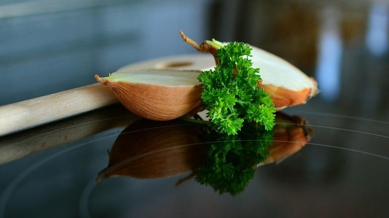 mascarilla de perejil y bicarbonato 2
