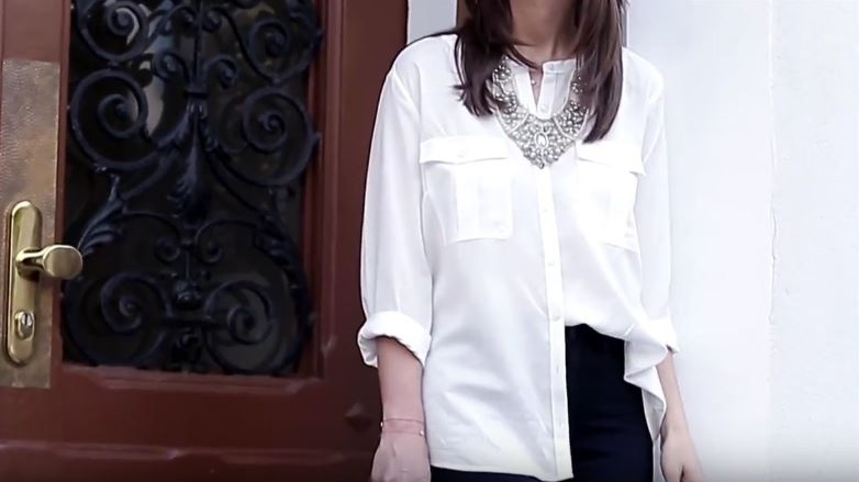 como combinar una blusa