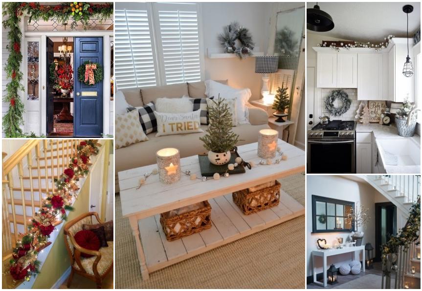 Decorar La Casa En Navidad Con Poco Dinero.Como Decorar Para Navidad 40 Ideas Faciles Y Con Poco