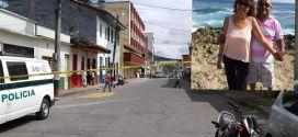 Pareja de adultos mayores fueron ultimado en Caicedonia Valle.