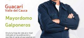 Aplica a éstas vacantes para trabajar en Guacari.
