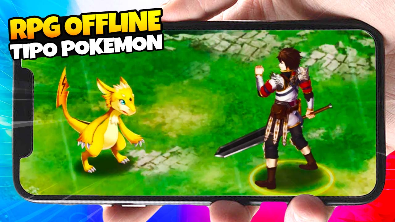 Evertale, RPG mobile offline  com elementos de Pokemon e Final Fantasy