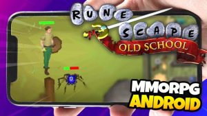 Old School Runescape, MMORPG para ANDROID super divertido