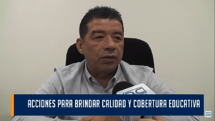 Presidente de la Asamblea, Alejandro Martínez, asegura que hay un gran reto en materia educativa