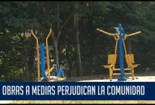 OBRAS A MEDIAS PERJUDICAN LA COMUNIDAD