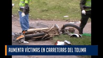 AUMENTA VÍCTIMAS EN CARRETERAS DEL TOLIMA