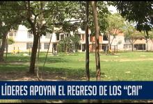 """LÍDERES APOYAN EL REGRESO DE LOS """"CAI"""""""