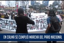 Photo of Profesores, estudiantes y sindicatos marcharon en Ibagué durante este miércoles en desarrollo del Paro Nacional