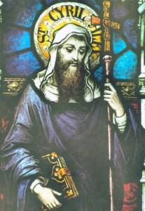 San Cirilio de Alejandría (~370-444)