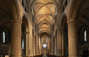 Interior de la Catedral de Durham