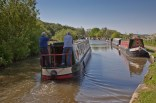 """Two """"fellers"""" leaving Poynton going south - no women to work the locks?"""