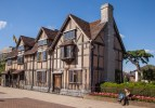 Shakespeare's Birthplace in Stratford.