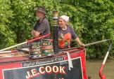 Captain Cook at the tiller I presume