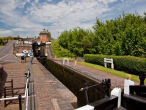 The lower lock.