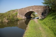 Baylis's Bridge at Curdworth is typical of the bridges along thi