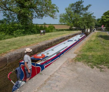 Baddiley Lock 8.