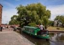 Approaching Gailey Lock from the south