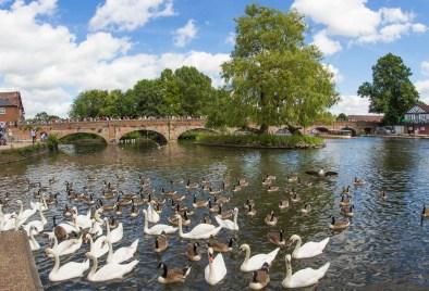 Clopton Bridge...