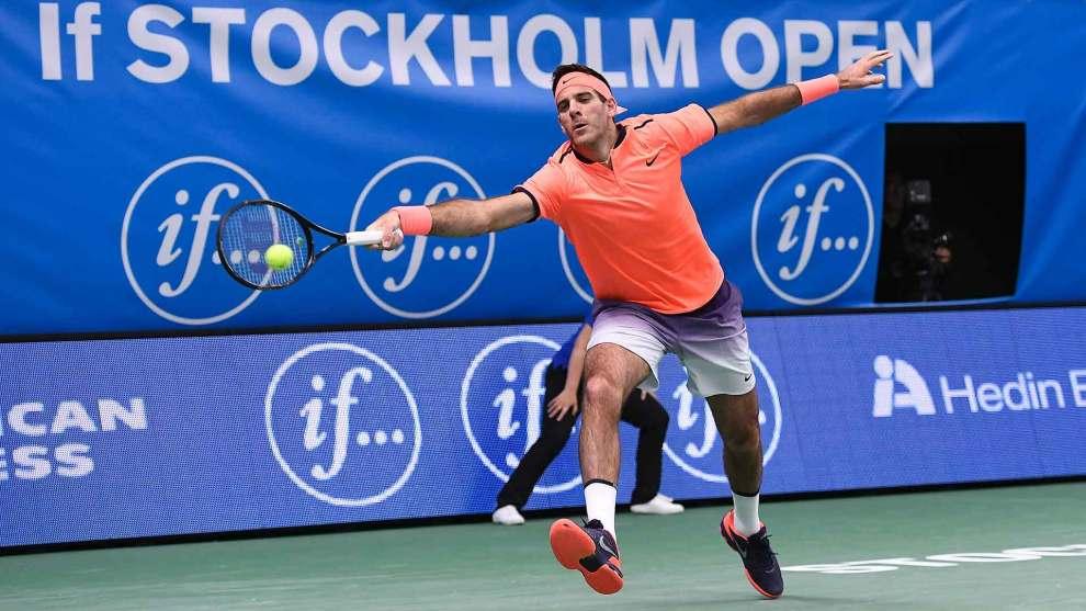 Del Potro ATP Estocolmo