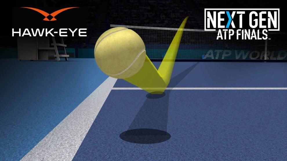 Ojo de Halcón Next Gen ATP Finals