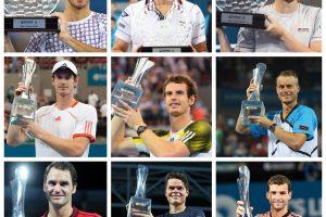 Campeones del ATP 250 de Brisbane