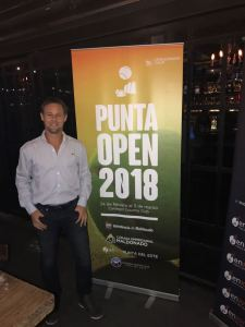 Marcelo Felder director del Challenger de Punta del Este