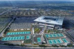 Instalaciones del Masters 1000 de Miami