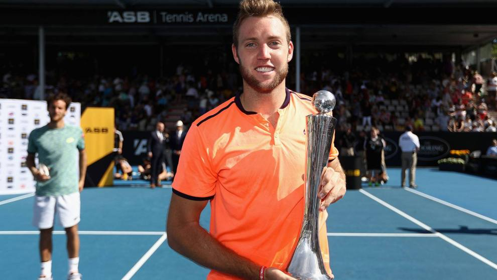 Jack Sock campeón ATP Auckland 2017
