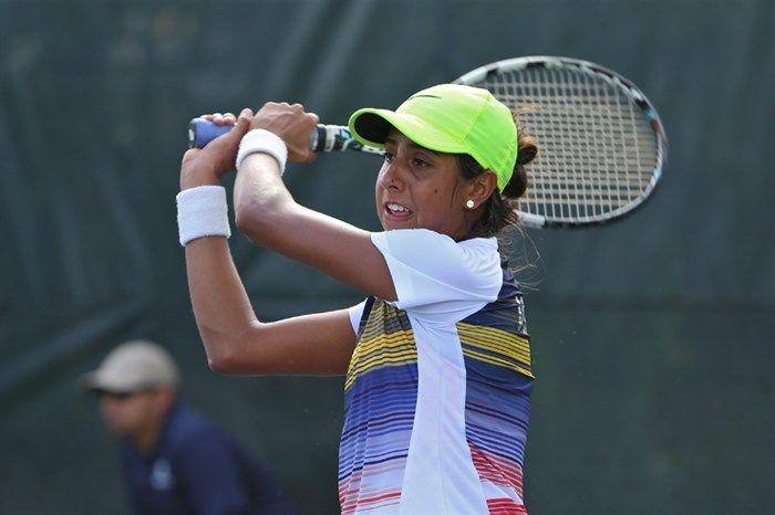Aymez Uzcategui en la Fed Cup con Venezuela