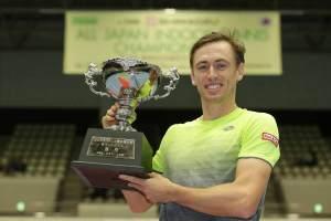 Millman con el título del Challenger de Kyoto
