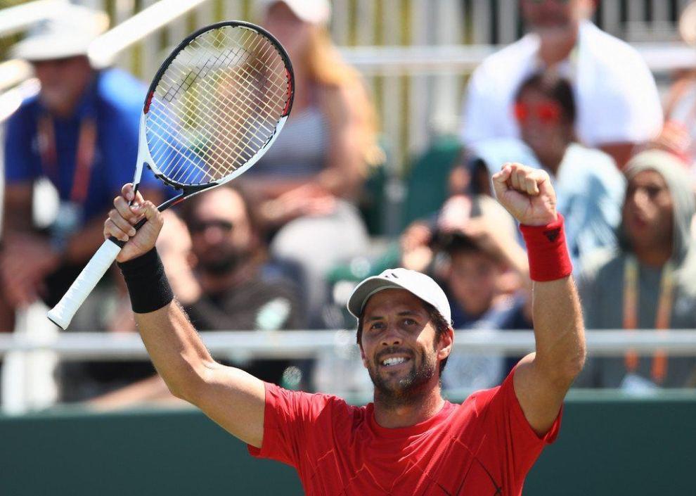 Fernando Verdasco celebra el triunfo en el Miami Open
