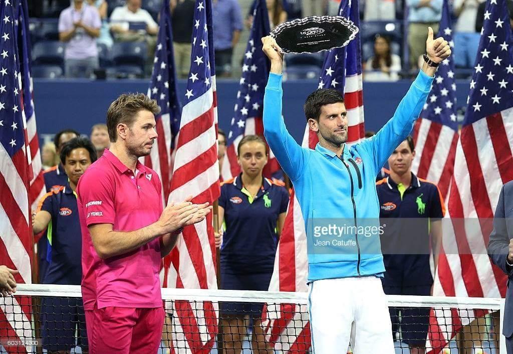 Francesa Fachin en la entrega de premios del US Open 2016
