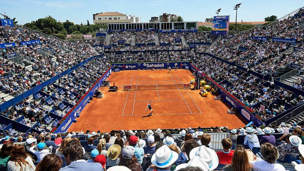 Pista Central del Barcelona Open Banc Sabadell