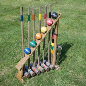 Artilugios para jugar croquet