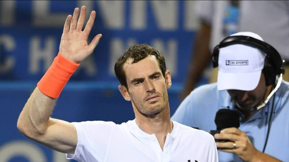 Andy Murray problemas cadera