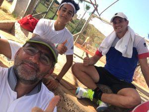 Toni Colom, Ángel Guerrero y David Vega Hernández