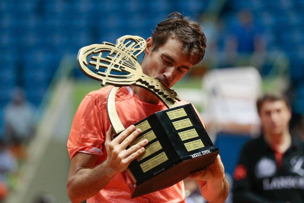 Guido Pella título ATP Sao Paulo