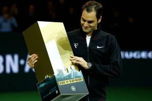 Roger Federer homenaje ATP Rotterdam