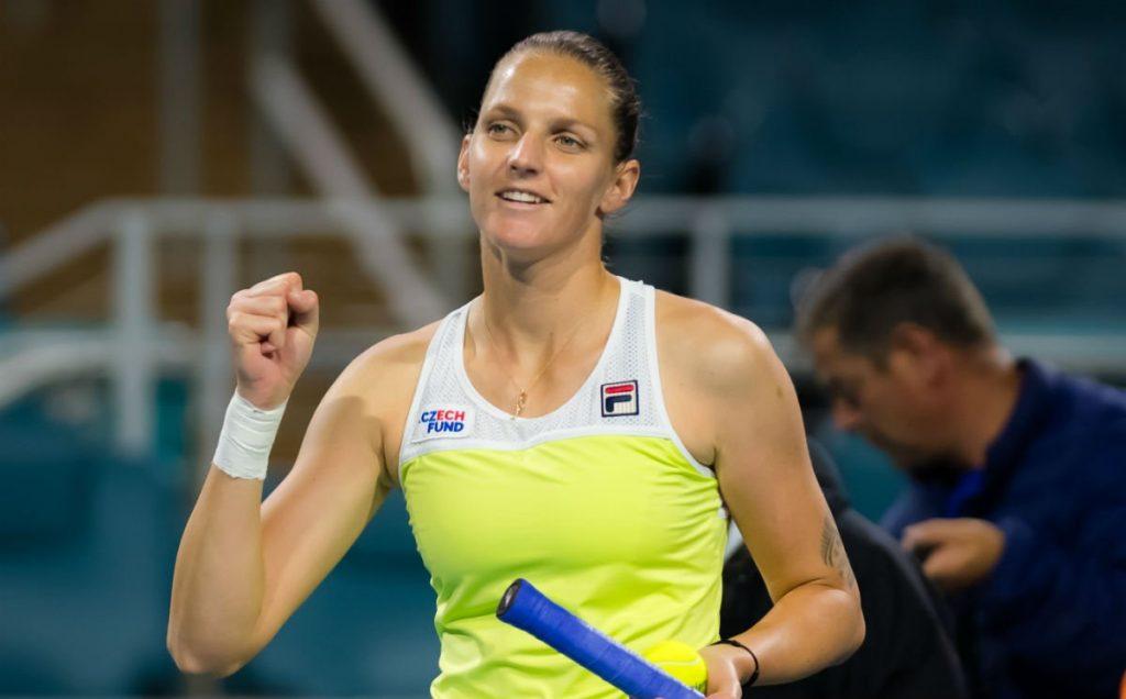 Karolina Pliskova Miami Open 2019