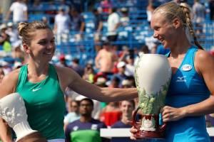 Halep y Bertens WTA Cincinnati