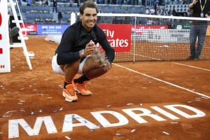 Jugadores con más títulos Mutua Madrid Open