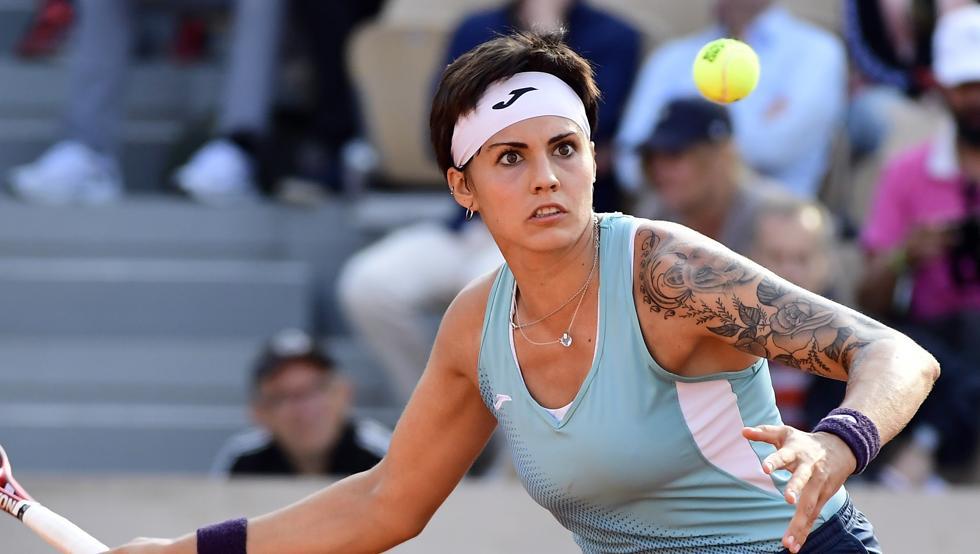 Aliona Bolsova Roland Garros 2019