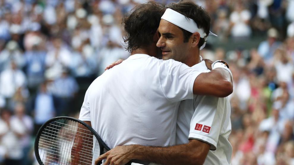 Nadal Federer Santiago Bernabéu